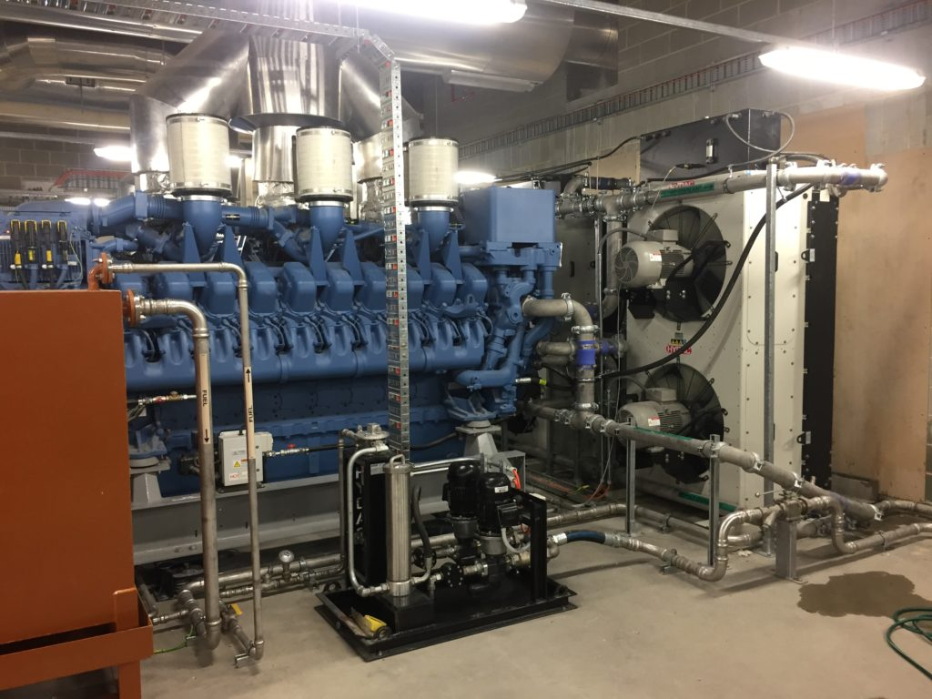 Cooling System at Capital Square Towers