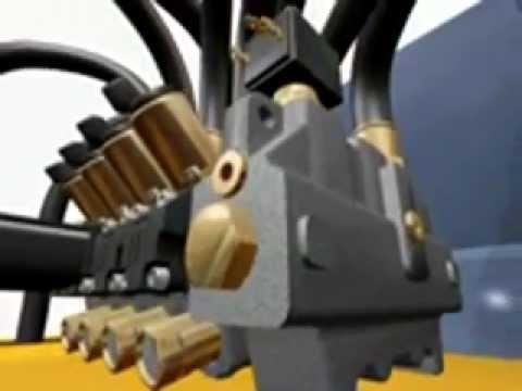 Nordhydraulic Valve animation