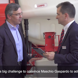 Integration of TTConnect Cloud Service into Maschio Gaspardo's Sprayer Campo 65