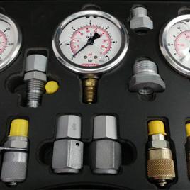 Pressure Gauges and Gauge Isolators