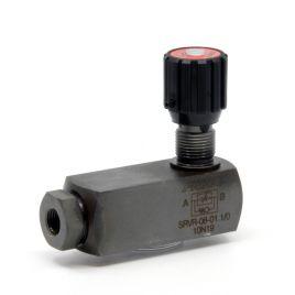 2-Way Flow Regulator, Pressure Compensated - SRVR / SRVRP 08 to 20