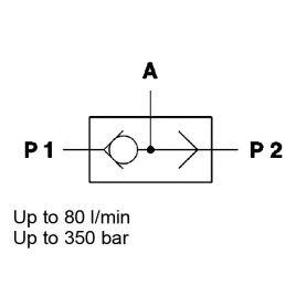 3-Way, Inline Mounted - WVT 6S / 8S / 10S / 12S