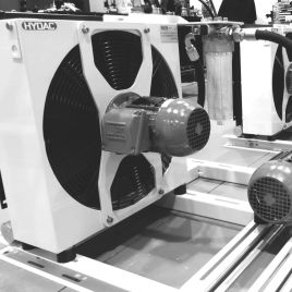 ACAF-LN AIR COOLER WITH INTEGRATED PUMP AND FILTER