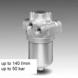 Inline Filter with Integrated Thermal Bypass Valve - LPF
