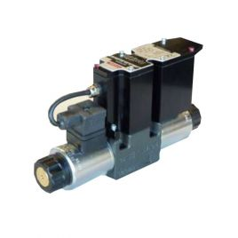 CETOP 3, 4/3 Proportional Solenoid Valve with Integrated Electronics - P4WEE 06