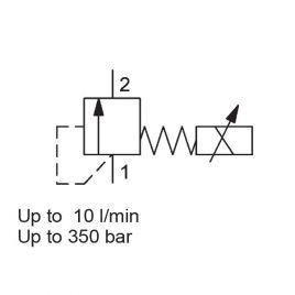 Direct Acting, Poppet Type, Metric Cartridge - PDBM06020