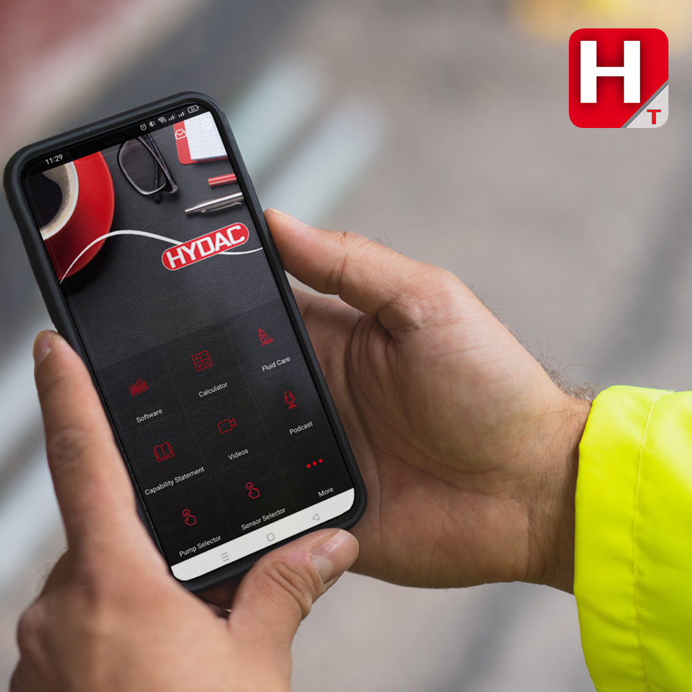 What is new on your HYDAC Tools app