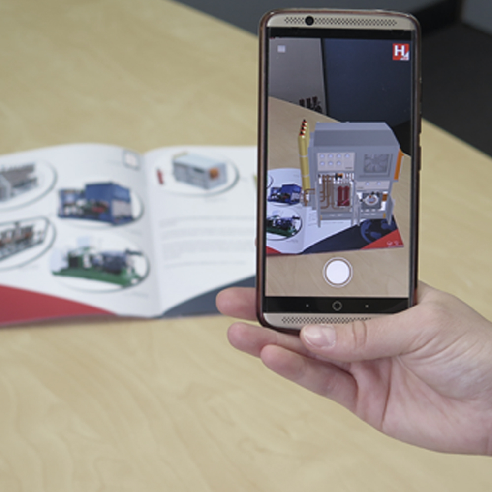 Experience HYDAC Augmented Reality