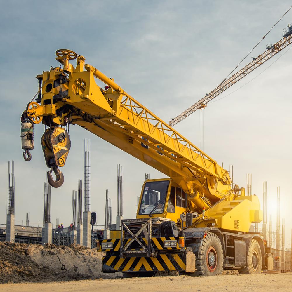 HYDAC gets 40 tonne articulated crane operational