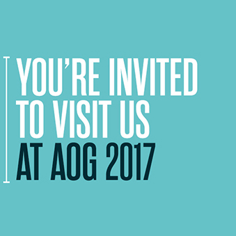 You're invited to visit us at AOG 2017 – Perth