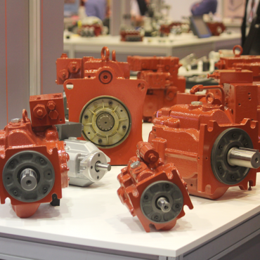 Axial piston pump for mobile applications