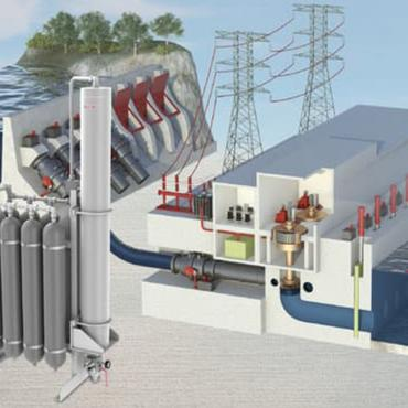 Reliable and innovative monitoring of accumulator systems in the hydropower industry