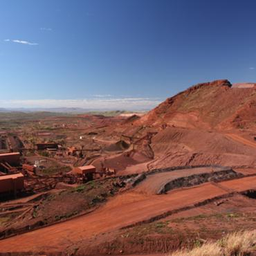 Lube system solution for iron ore mining in Western Australia.