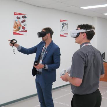 """Behind the Scenes at HYDAC"" with AHK illuminates VR training"