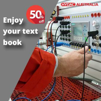 Enjoy 50% off your text book when enroling for your next HYDAC technical training course!