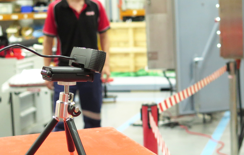 HYDAC engineering team prepare for a remote FAT