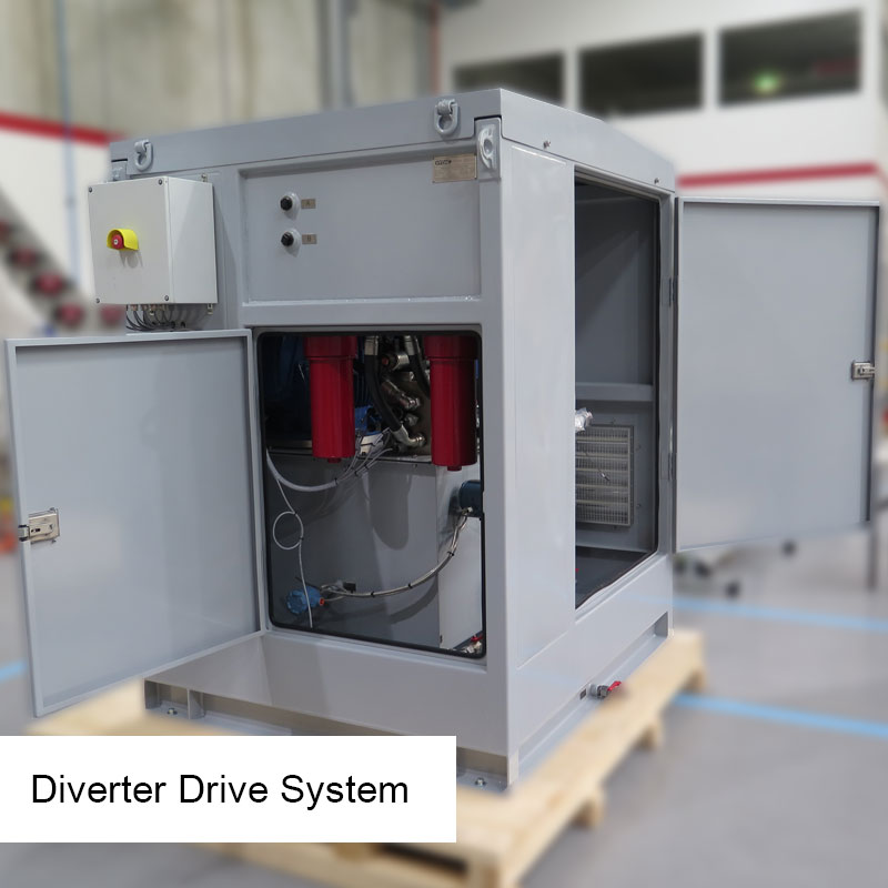Diverter Drive System