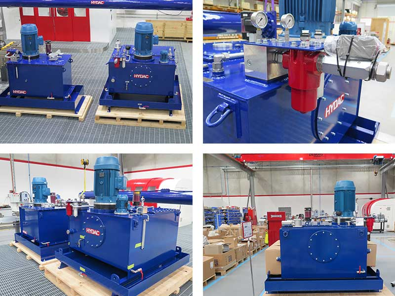 Plate Freezer Hydraulic Package