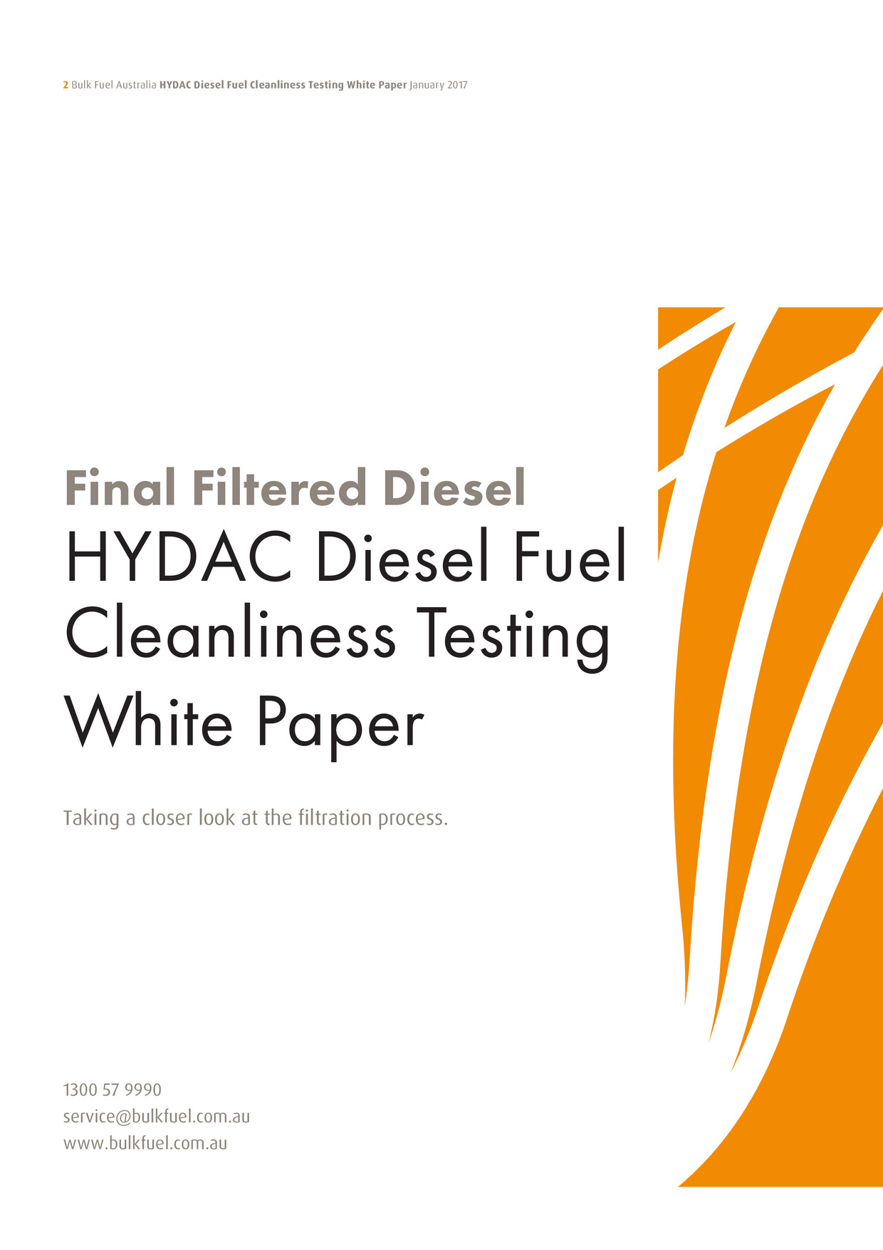 HYDAC Diesel Fuel Cleanliness Testing White Paper-2017