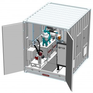HYDAC Dewatering unit