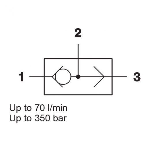 3-Way, Cartridge WVE-R1/8 to R1/2