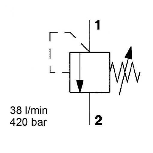 Pressure relief DB08A-01