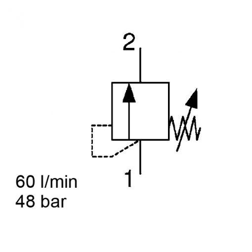 Pressure Relief DB10120A-13X