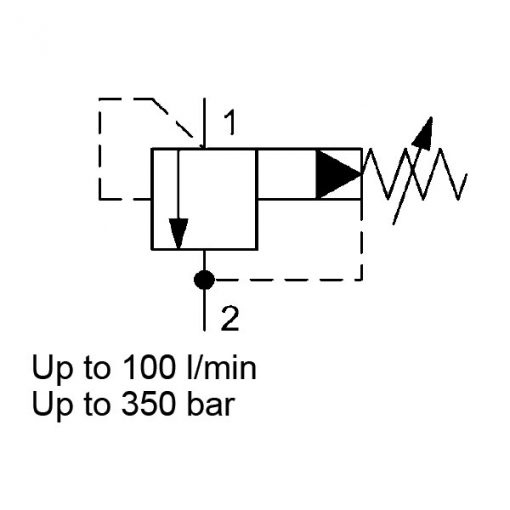 Pressure relief valve DB10120A