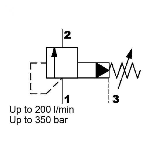 Pressure Relief valve DB12121PE-01