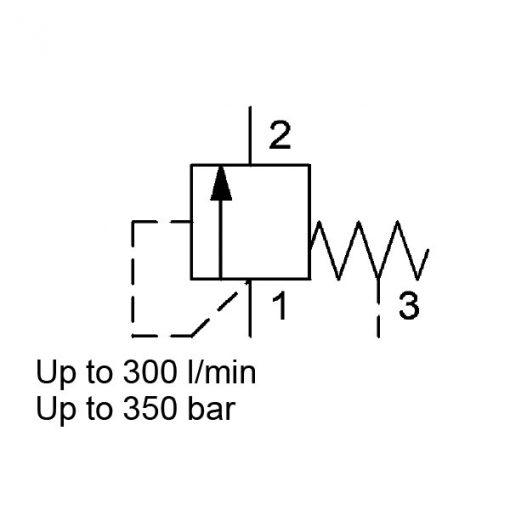 Pressure Relief Valve DB16621E-10