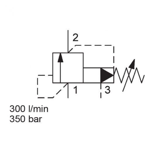Pressure Relief DB16SPF