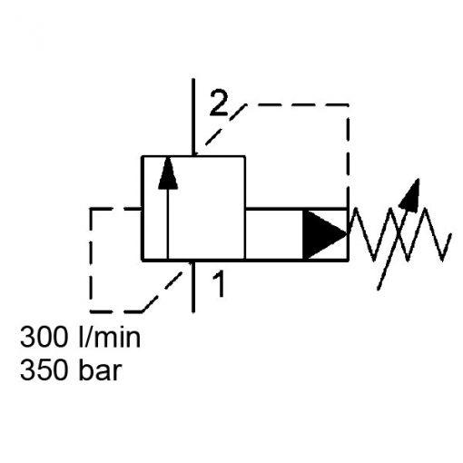Pressure Relief valve DB16p