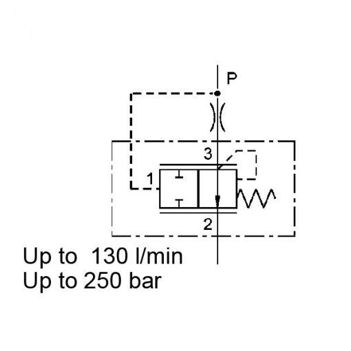 Pressure compensator valve DWM12130Y
