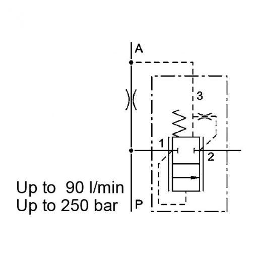 Pressure Compensator valve DWM12130Z