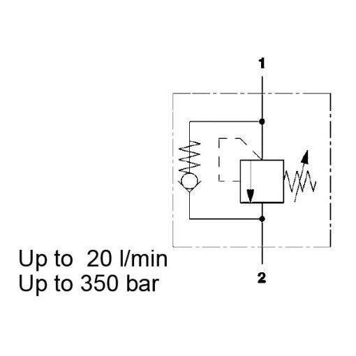 Pressure sequence valve DZ5E