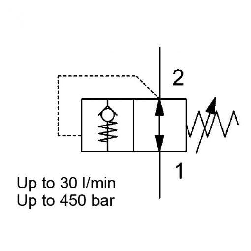 Pressure Reducing valve Dmm10121