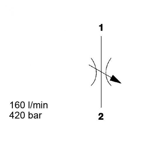 Needle Valve, SAE-10, SD10-01