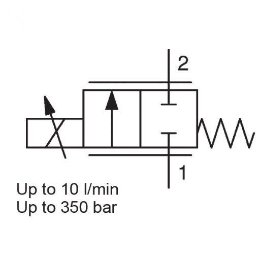 Proportional Flow Control Valve PWK06020W