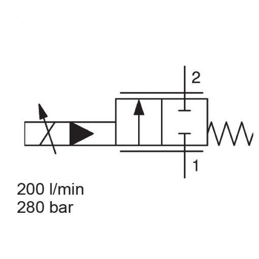 Proportional Flow Control Valve PWK12120WP