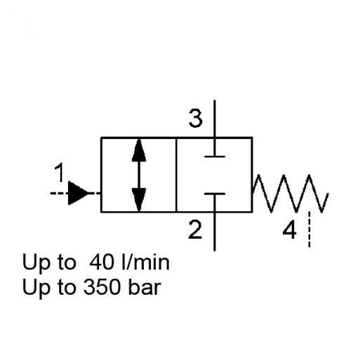 SAE-10-Cartridge,-Hydraulically-Operated,-WKH10W