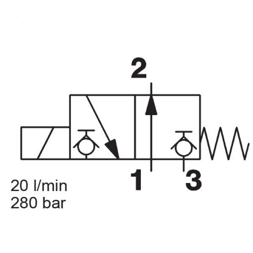 Solenoid Directional Valve WS08D-51