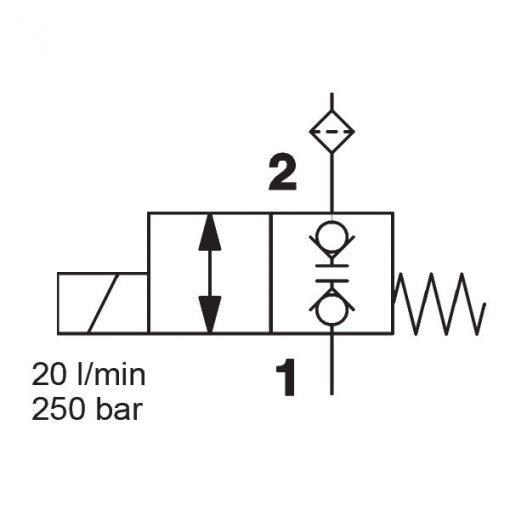 solenoid valve WS08W-30