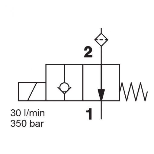 Solenoid valve WS08Y-30