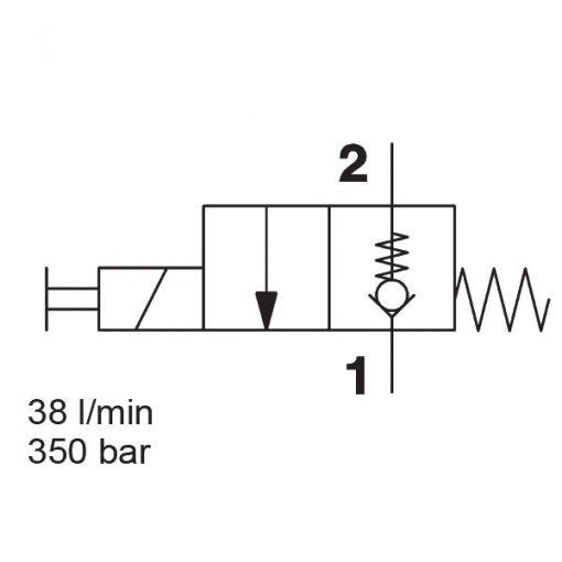Solenoid Directional Valve WS08Z-01J