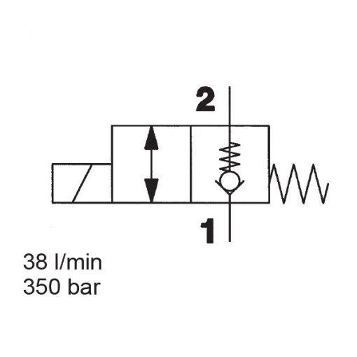 Solenoid Directional Valve WS08ZR-01