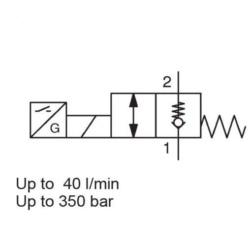 Solenoid Directional Valve WS08ZR-01E