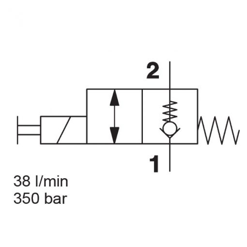 Solenoid Directional Valve WS08ZR-01J