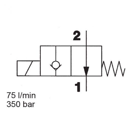 Solenoid valve WS10Y-01