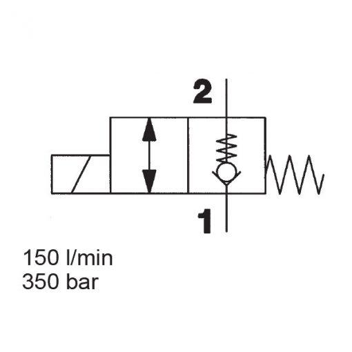 Solenoid Directional Valve WS16ZR-01
