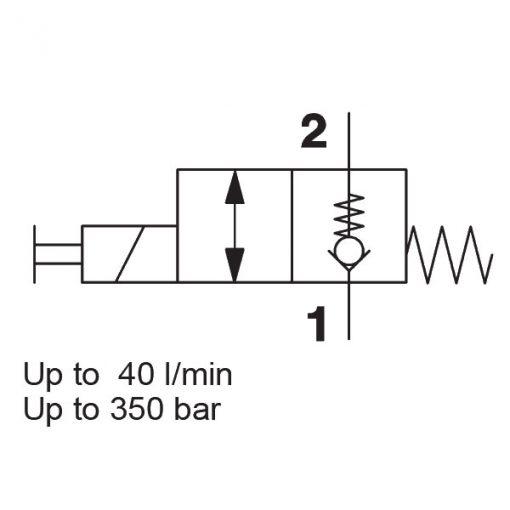 Solenoid Directional Valve WSM06020ZR-01J